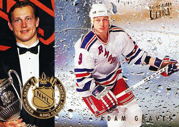 1994-95 Ultra Award Winners #4 Adam Graves, King Clancy Trophy<br/>14 In Stock - $2.00 each - <a href=https://centericecollectibles.foxycart.com/cart?name=1994-95%20Ultra%20Award%20Winners%20%234%20Adam%20Graves,%20Ki...&quantity_max=14&price=$2.00&code=35120 class=foxycart> Buy it now! </a>