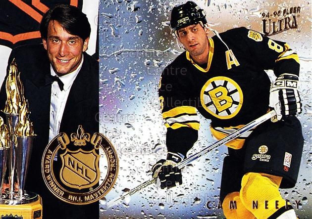 1994-95 Ultra Award Winners #8 Cam Neely, Masterton Trophy<br/>15 In Stock - $2.00 each - <a href=https://centericecollectibles.foxycart.com/cart?name=1994-95%20Ultra%20Award%20Winners%20%238%20Cam%20Neely,%20Mast...&quantity_max=15&price=$2.00&code=35123 class=foxycart> Buy it now! </a>