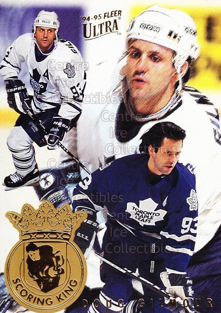 1994-95 Ultra Scoring Kings #3 Doug Gilmour<br/>9 In Stock - $2.00 each - <a href=https://centericecollectibles.foxycart.com/cart?name=1994-95%20Ultra%20Scoring%20Kings%20%233%20Doug%20Gilmour...&quantity_max=9&price=$2.00&code=35149 class=foxycart> Buy it now! </a>