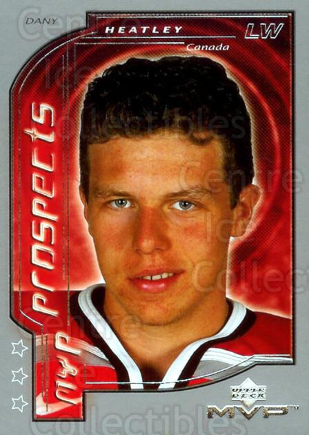2000-01 Upper Deck MVP Third Star #211 Dany Heatley<br/>1 In Stock - $5.00 each - <a href=https://centericecollectibles.foxycart.com/cart?name=2000-01%20Upper%20Deck%20MVP%20Third%20Star%20%23211%20Dany%20Heatley...&quantity_max=1&price=$5.00&code=351525 class=foxycart> Buy it now! </a>