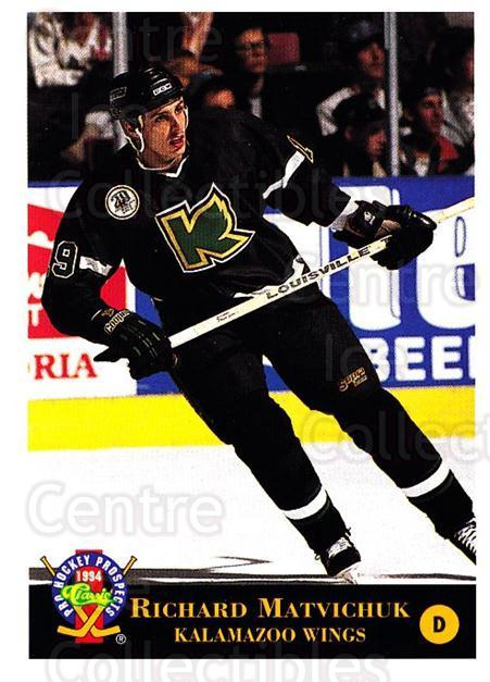 1994 Classic Pro Prospects #151 Richard Matvichuk<br/>2 In Stock - $1.00 each - <a href=https://centericecollectibles.foxycart.com/cart?name=1994%20Classic%20Pro%20Prospects%20%23151%20Richard%20Matvich...&quantity_max=2&price=$1.00&code=3520 class=foxycart> Buy it now! </a>