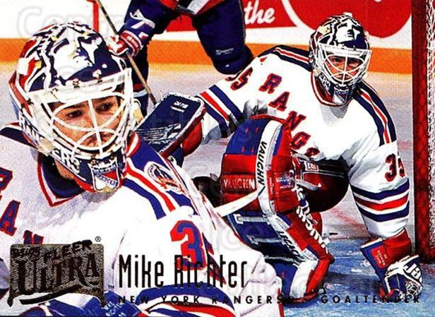 1994-95 Ultra #143 Mike Richter<br/>2 In Stock - $1.00 each - <a href=https://centericecollectibles.foxycart.com/cart?name=1994-95%20Ultra%20%23143%20Mike%20Richter...&quantity_max=2&price=$1.00&code=35215 class=foxycart> Buy it now! </a>