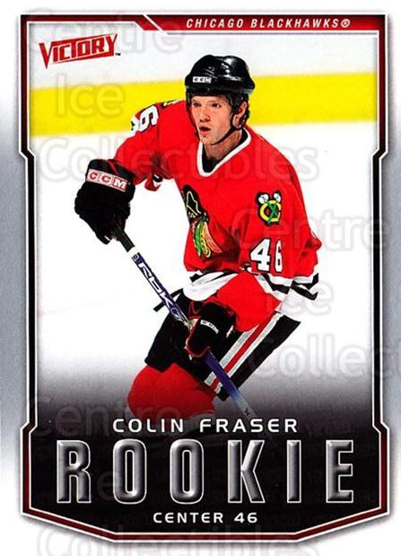 2007-08 UD Victory #213 Colin Fraser<br/>1 In Stock - $2.00 each - <a href=https://centericecollectibles.foxycart.com/cart?name=2007-08%20UD%20Victory%20%23213%20Colin%20Fraser...&price=$2.00&code=352183 class=foxycart> Buy it now! </a>