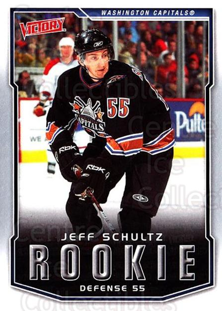 2007-08 UD Victory #223 Jeff Schultz<br/>2 In Stock - $2.00 each - <a href=https://centericecollectibles.foxycart.com/cart?name=2007-08%20UD%20Victory%20%23223%20Jeff%20Schultz...&price=$2.00&code=352186 class=foxycart> Buy it now! </a>