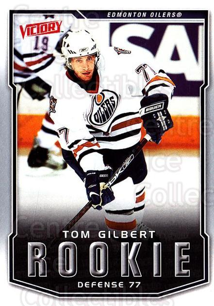 2007-08 UD Victory #224 Tom Gilbert<br/>2 In Stock - $2.00 each - <a href=https://centericecollectibles.foxycart.com/cart?name=2007-08%20UD%20Victory%20%23224%20Tom%20Gilbert...&price=$2.00&code=352187 class=foxycart> Buy it now! </a>