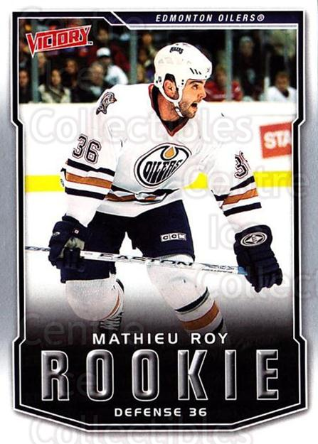 2007-08 UD Victory #244 Mathieu Roy<br/>1 In Stock - $2.00 each - <a href=https://centericecollectibles.foxycart.com/cart?name=2007-08%20UD%20Victory%20%23244%20Mathieu%20Roy...&price=$2.00&code=352198 class=foxycart> Buy it now! </a>