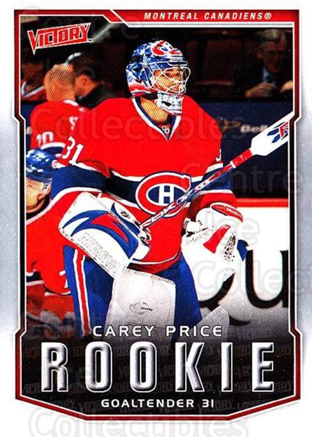 2007-08 UD Victory #303 Carey Price<br/>9 In Stock - $10.00 each - <a href=https://centericecollectibles.foxycart.com/cart?name=2007-08%20UD%20Victory%20%23303%20Carey%20Price...&price=$10.00&code=352217 class=foxycart> Buy it now! </a>