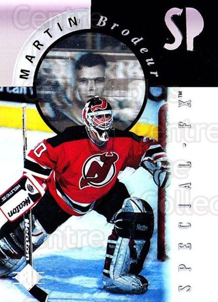 1995-96 SP Holoviews Special FX Die Cut #12 Martin Brodeur<br/>2 In Stock - $20.00 each - <a href=https://centericecollectibles.foxycart.com/cart?name=1995-96%20SP%20Holoviews%20Special%20FX%20Die%20Cut%20%2312%20Martin%20Brodeur...&quantity_max=2&price=$20.00&code=352233 class=foxycart> Buy it now! </a>