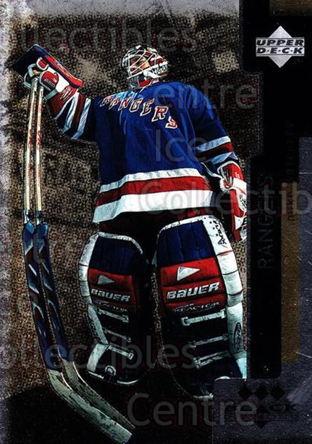 1997-98 Black Diamond Triple Diamond #4 Mike Richter<br/>5 In Stock - $3.00 each - <a href=https://centericecollectibles.foxycart.com/cart?name=1997-98%20Black%20Diamond%20Triple%20Diamond%20%234%20Mike%20Richter...&quantity_max=5&price=$3.00&code=352432 class=foxycart> Buy it now! </a>