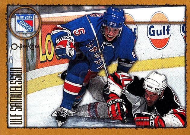 1998-99 Topps O-Pee-Chee Parallel #127 Ulf Samuelsson<br/>2 In Stock - $2.00 each - <a href=https://centericecollectibles.foxycart.com/cart?name=1998-99%20Topps%20O-Pee-Chee%20Parallel%20%23127%20Ulf%20Samuelsson...&quantity_max=2&price=$2.00&code=352760 class=foxycart> Buy it now! </a>