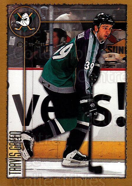 1998-99 Topps O-Pee-Chee Parallel #162 Travis Green<br/>3 In Stock - $2.00 each - <a href=https://centericecollectibles.foxycart.com/cart?name=1998-99%20Topps%20O-Pee-Chee%20Parallel%20%23162%20Travis%20Green...&quantity_max=3&price=$2.00&code=352799 class=foxycart> Buy it now! </a>