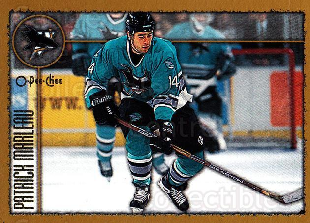 1998-99 Topps O-Pee-Chee Parallel #170 Patrick Marleau<br/>1 In Stock - $2.00 each - <a href=https://centericecollectibles.foxycart.com/cart?name=1998-99%20Topps%20O-Pee-Chee%20Parallel%20%23170%20Patrick%20Marleau...&quantity_max=1&price=$2.00&code=352808 class=foxycart> Buy it now! </a>