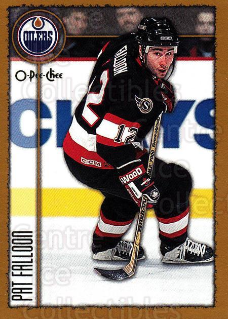 1998-99 Topps O-Pee-Chee Parallel #182 Pat Falloon<br/>2 In Stock - $2.00 each - <a href=https://centericecollectibles.foxycart.com/cart?name=1998-99%20Topps%20O-Pee-Chee%20Parallel%20%23182%20Pat%20Falloon...&quantity_max=2&price=$2.00&code=352820 class=foxycart> Buy it now! </a>