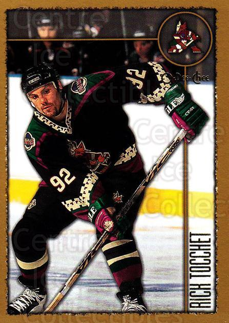 1998-99 Topps O-Pee-Chee Parallel #34 Rick Tocchet<br/>1 In Stock - $2.00 each - <a href=https://centericecollectibles.foxycart.com/cart?name=1998-99%20Topps%20O-Pee-Chee%20Parallel%20%2334%20Rick%20Tocchet...&quantity_max=1&price=$2.00&code=352890 class=foxycart> Buy it now! </a>