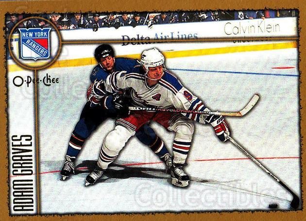 1998-99 Topps O-Pee-Chee Parallel #89 Adam Graves<br/>4 In Stock - $2.00 each - <a href=https://centericecollectibles.foxycart.com/cart?name=1998-99%20Topps%20O-Pee-Chee%20Parallel%20%2389%20Adam%20Graves...&quantity_max=4&price=$2.00&code=352959 class=foxycart> Buy it now! </a>