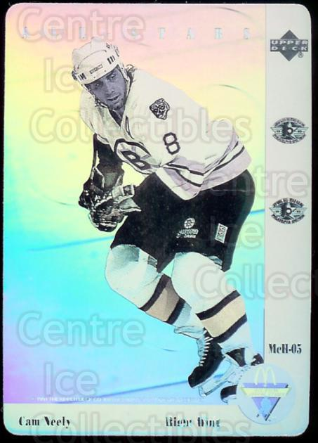1991-92 McDonald's Upper Deck Hologram #5 Cam Neely<br/>10 In Stock - $2.00 each - <a href=https://centericecollectibles.foxycart.com/cart?name=1991-92%20McDonald's%20Upper%20Deck%20Hologram%20%235%20Cam%20Neely...&price=$2.00&code=352 class=foxycart> Buy it now! </a>