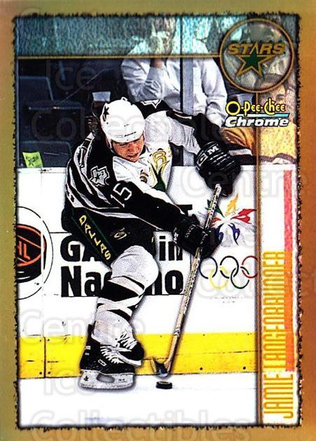 1998-99 O-Pee-Chee Chrome Refractors #7 Jamie Langenbrunner<br/>1 In Stock - $3.00 each - <a href=https://centericecollectibles.foxycart.com/cart?name=1998-99%20O-Pee-Chee%20Chrome%20Refractors%20%237%20Jamie%20Langenbru...&quantity_max=1&price=$3.00&code=353021 class=foxycart> Buy it now! </a>