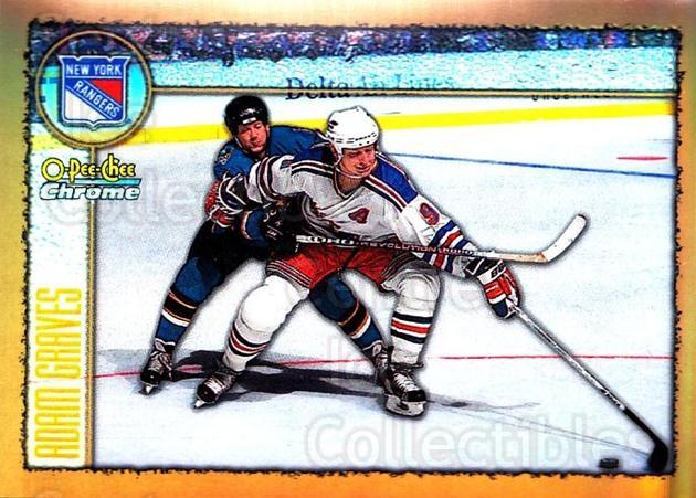 1998-99 O-Pee-Chee Chrome Refractors #89 Adam Graves<br/>1 In Stock - $3.00 each - <a href=https://centericecollectibles.foxycart.com/cart?name=1998-99%20O-Pee-Chee%20Chrome%20Refractors%20%2389%20Adam%20Graves...&quantity_max=1&price=$3.00&code=353041 class=foxycart> Buy it now! </a>