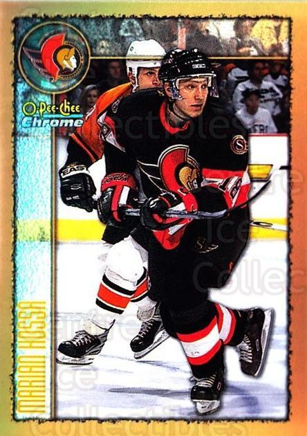 1998-99 O-Pee-Chee Chrome Refractors #104 Marian Hossa<br/>1 In Stock - $5.00 each - <a href=https://centericecollectibles.foxycart.com/cart?name=1998-99%20O-Pee-Chee%20Chrome%20Refractors%20%23104%20Marian%20Hossa...&quantity_max=1&price=$5.00&code=353082 class=foxycart> Buy it now! </a>