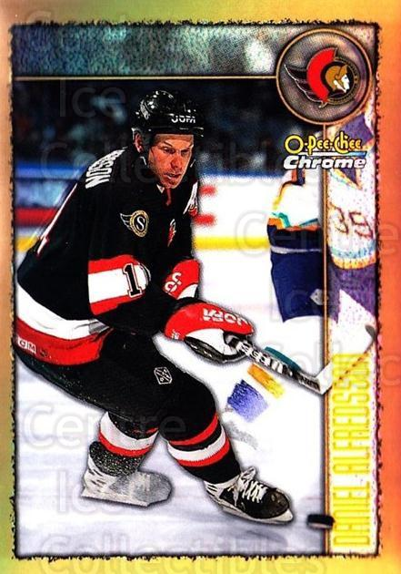 1998-99 O-Pee-Chee Chrome Refractors #130 Daniel Alfredsson<br/>1 In Stock - $3.00 each - <a href=https://centericecollectibles.foxycart.com/cart?name=1998-99%20O-Pee-Chee%20Chrome%20Refractors%20%23130%20Daniel%20Alfredss...&quantity_max=1&price=$3.00&code=353110 class=foxycart> Buy it now! </a>