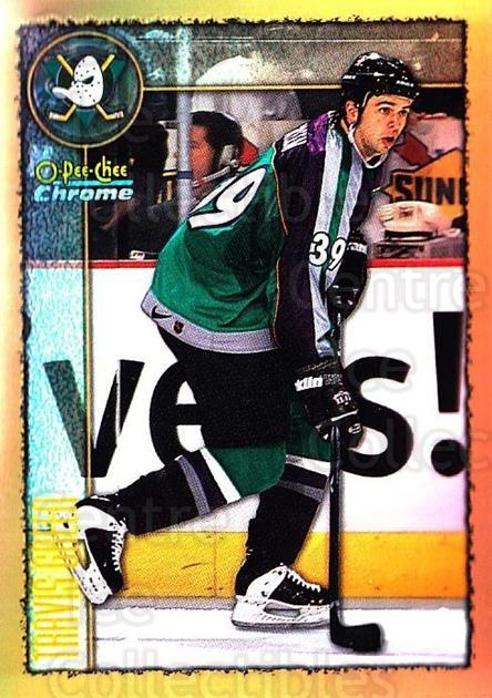1998-99 O-Pee-Chee Chrome Refractors #162 Travis Green<br/>1 In Stock - $3.00 each - <a href=https://centericecollectibles.foxycart.com/cart?name=1998-99%20O-Pee-Chee%20Chrome%20Refractors%20%23162%20Travis%20Green...&quantity_max=1&price=$3.00&code=353145 class=foxycart> Buy it now! </a>