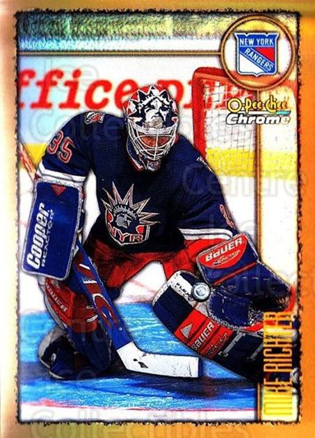 1998-99 O-Pee-Chee Chrome Refractors #200 Mike Richter<br/>1 In Stock - $5.00 each - <a href=https://centericecollectibles.foxycart.com/cart?name=1998-99%20O-Pee-Chee%20Chrome%20Refractors%20%23200%20Mike%20Richter...&quantity_max=1&price=$5.00&code=353183 class=foxycart> Buy it now! </a>