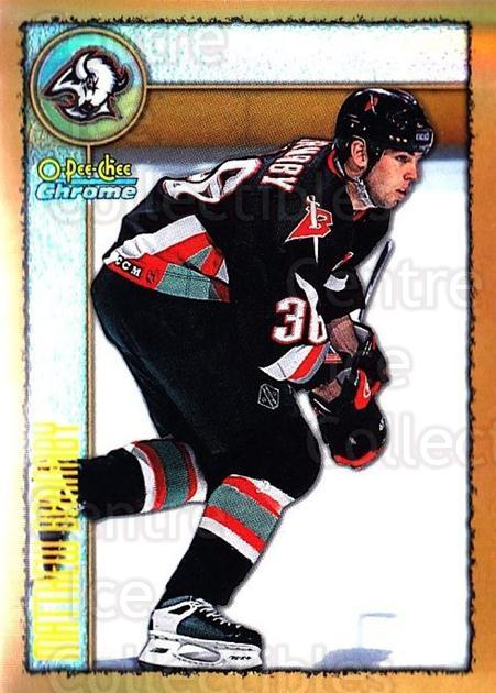 1998-99 O-Pee-Chee Chrome Refractors #213 Matthew Barnaby<br/>1 In Stock - $3.00 each - <a href=https://centericecollectibles.foxycart.com/cart?name=1998-99%20O-Pee-Chee%20Chrome%20Refractors%20%23213%20Matthew%20Barnaby...&quantity_max=1&price=$3.00&code=353196 class=foxycart> Buy it now! </a>