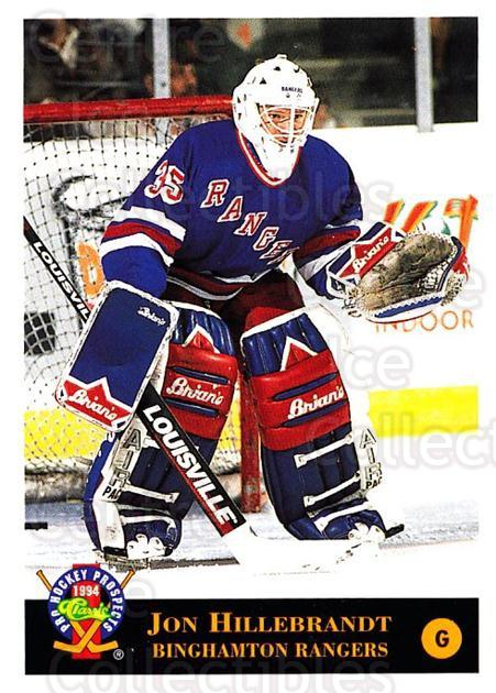 1994 Classic Pro Prospects #162 Jon Hillebrandt<br/>10 In Stock - $1.00 each - <a href=https://centericecollectibles.foxycart.com/cart?name=1994%20Classic%20Pro%20Prospects%20%23162%20Jon%20Hillebrandt...&quantity_max=10&price=$1.00&code=3531 class=foxycart> Buy it now! </a>