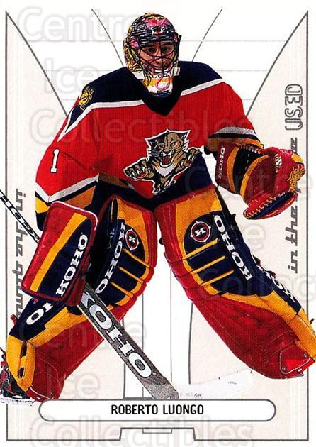 2002-03 BAP ITG Used #134 Roberto Luongo<br/>5 In Stock - $3.00 each - <a href=https://centericecollectibles.foxycart.com/cart?name=2002-03%20BAP%20ITG%20Used%20%23134%20Roberto%20Luongo...&quantity_max=5&price=$3.00&code=353346 class=foxycart> Buy it now! </a>