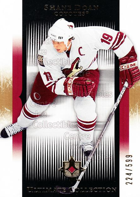 2005-06 UD Ultimate Collection #70 Shane Doan<br/>1 In Stock - $5.00 each - <a href=https://centericecollectibles.foxycart.com/cart?name=2005-06%20UD%20Ultimate%20Collection%20%2370%20Shane%20Doan...&quantity_max=1&price=$5.00&code=353482 class=foxycart> Buy it now! </a>