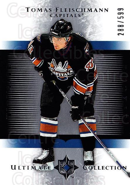 2005-06 UD Ultimate Collection #182 Tomas Fleischmann<br/>5 In Stock - $5.00 each - <a href=https://centericecollectibles.foxycart.com/cart?name=2005-06%20UD%20Ultimate%20Collection%20%23182%20Tomas%20Fleischma...&quantity_max=5&price=$5.00&code=353594 class=foxycart> Buy it now! </a>