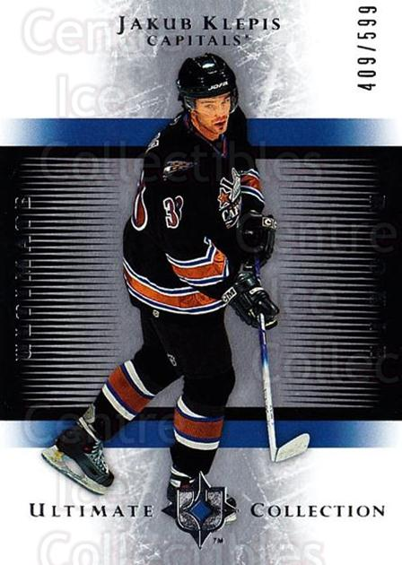 2005-06 UD Ultimate Collection #183 Jakub Klepis<br/>1 In Stock - $5.00 each - <a href=https://centericecollectibles.foxycart.com/cart?name=2005-06%20UD%20Ultimate%20Collection%20%23183%20Jakub%20Klepis...&quantity_max=1&price=$5.00&code=353595 class=foxycart> Buy it now! </a>