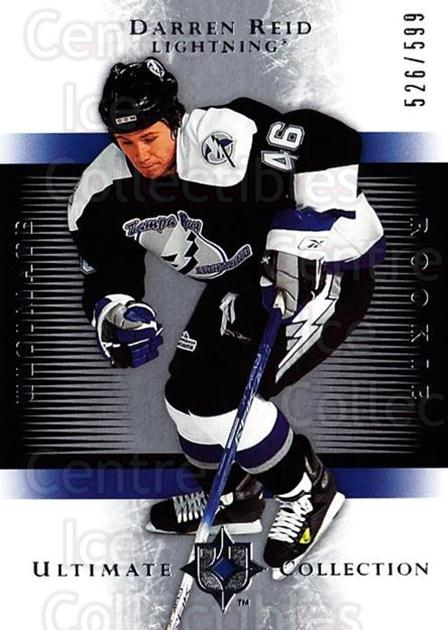 2005-06 UD Ultimate Collection #226 Darren Reid<br/>2 In Stock - $5.00 each - <a href=https://centericecollectibles.foxycart.com/cart?name=2005-06%20UD%20Ultimate%20Collection%20%23226%20Darren%20Reid...&quantity_max=2&price=$5.00&code=353638 class=foxycart> Buy it now! </a>