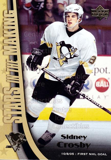2005-06 Upper Deck Stars in the Making #1 Sidney Crosby<br/>1 In Stock - $10.00 each - <a href=https://centericecollectibles.foxycart.com/cart?name=2005-06%20Upper%20Deck%20Stars%20in%20the%20Making%20%231%20Sidney%20Crosby...&price=$10.00&code=353686 class=foxycart> Buy it now! </a>