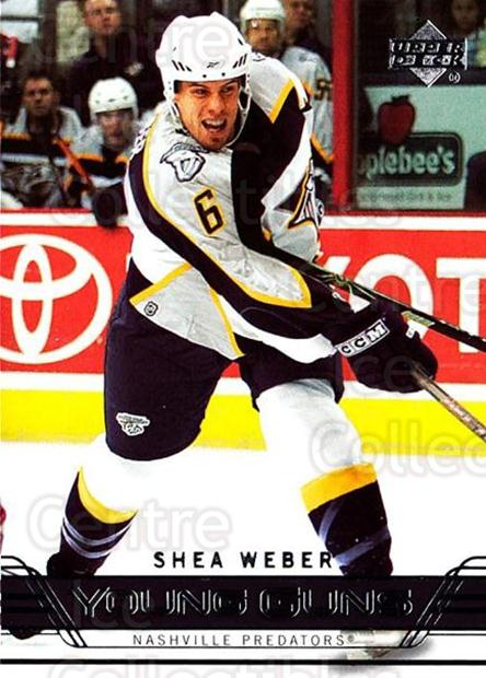 2006-07 Upper Deck #222 Shea Weber<br/>2 In Stock - $20.00 each - <a href=https://centericecollectibles.foxycart.com/cart?name=2006-07%20Upper%20Deck%20%23222%20Shea%20Weber...&quantity_max=2&price=$20.00&code=354199 class=foxycart> Buy it now! </a>