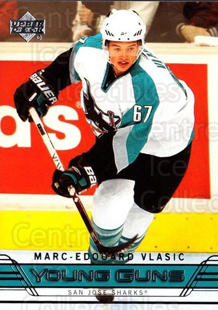 2006-07 Upper Deck #242 Marc-Edouard Vlasic<br/>2 In Stock - $5.00 each - <a href=https://centericecollectibles.foxycart.com/cart?name=2006-07%20Upper%20Deck%20%23242%20Marc-Edouard%20Vl...&quantity_max=2&price=$5.00&code=354212 class=foxycart> Buy it now! </a>