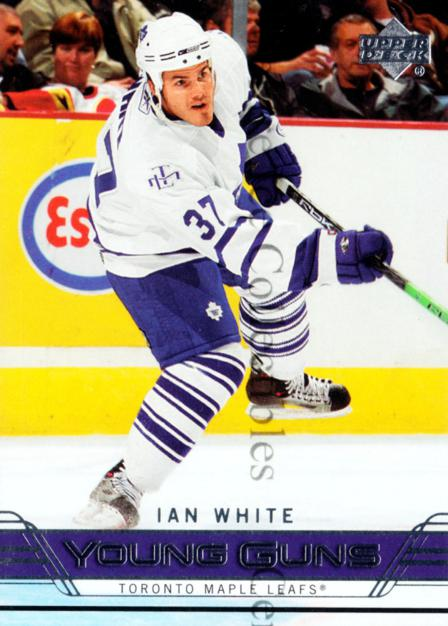 2006-07 Upper Deck #246 Ian White<br/>10 In Stock - $5.00 each - <a href=https://centericecollectibles.foxycart.com/cart?name=2006-07%20Upper%20Deck%20%23246%20Ian%20White...&quantity_max=10&price=$5.00&code=354213 class=foxycart> Buy it now! </a>