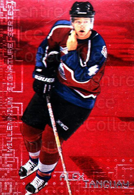 1999-00 BAP Millennium Ruby #73 Alex Tanguay<br/>1 In Stock - $2.00 each - <a href=https://centericecollectibles.foxycart.com/cart?name=1999-00%20BAP%20Millennium%20Ruby%20%2373%20Alex%20Tanguay...&quantity_max=1&price=$2.00&code=354557 class=foxycart> Buy it now! </a>