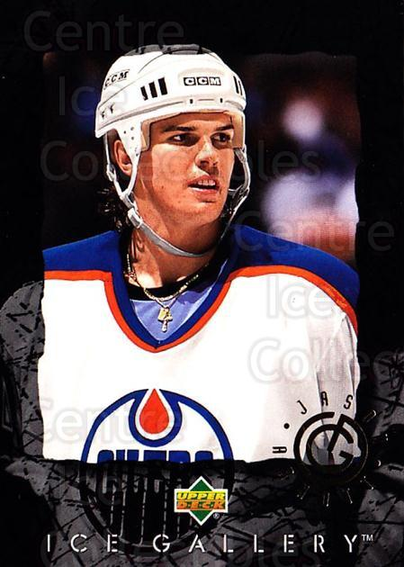 1994-95 Upper Deck Ice Gallery #2 Jason Arnott<br/>21 In Stock - $2.00 each - <a href=https://centericecollectibles.foxycart.com/cart?name=1994-95%20Upper%20Deck%20Ice%20Gallery%20%232%20Jason%20Arnott...&quantity_max=21&price=$2.00&code=35470 class=foxycart> Buy it now! </a>