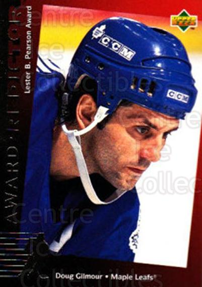 1994-95 Upper Deck Predictor Canadian Exchange Gold #18 Doug Gilmour<br/>10 In Stock - $3.00 each - <a href=https://centericecollectibles.foxycart.com/cart?name=1994-95%20Upper%20Deck%20Predictor%20Canadian%20Exchange%20Gold%20%2318%20Doug%20Gilmour...&quantity_max=10&price=$3.00&code=35476 class=foxycart> Buy it now! </a>