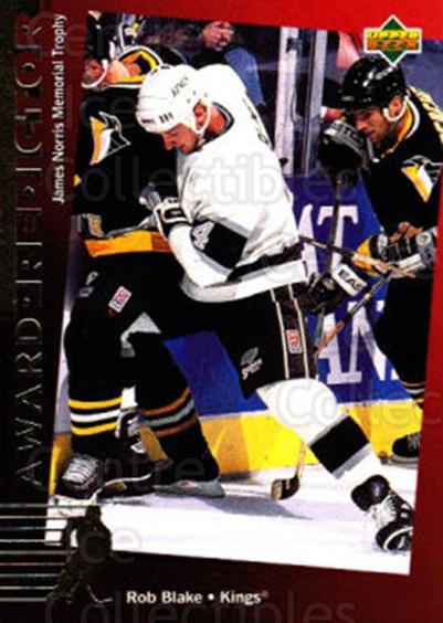 1994-95 Upper Deck Predictor Canadian Exchange Gold #32 Rob Blake<br/>7 In Stock - $3.00 each - <a href=https://centericecollectibles.foxycart.com/cart?name=1994-95%20Upper%20Deck%20Predictor%20Canadian%20Exchange%20Gold%20%2332%20Rob%20Blake...&quantity_max=7&price=$3.00&code=35488 class=foxycart> Buy it now! </a>