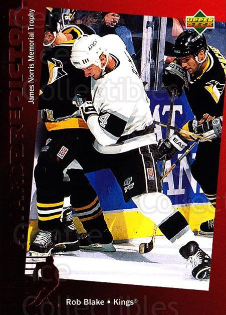 1994-95 Upper Deck Predictor Canadian #32 Rob Blake<br/>1 In Stock - $3.00 each - <a href=https://centericecollectibles.foxycart.com/cart?name=1994-95%20Upper%20Deck%20Predictor%20Canadian%20%2332%20Rob%20Blake...&quantity_max=1&price=$3.00&code=35512 class=foxycart> Buy it now! </a>