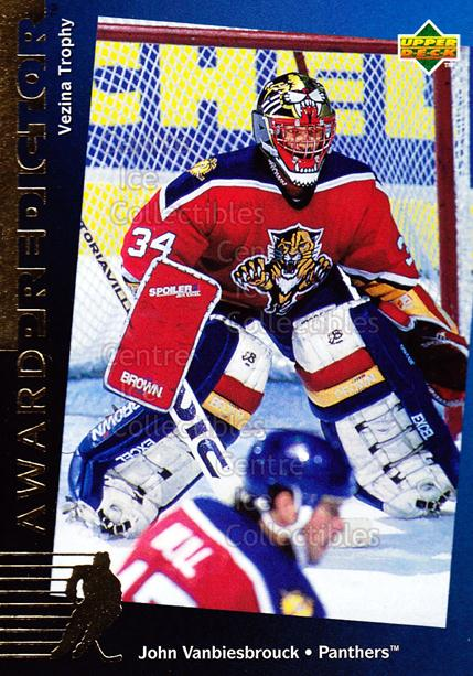 1994-95 Upper Deck Predictor Hobby Exchange Gold #32 John Vanbiesbrouck<br/>21 In Stock - $2.00 each - <a href=https://centericecollectibles.foxycart.com/cart?name=1994-95%20Upper%20Deck%20Predictor%20Hobby%20Exchange%20Gold%20%2332%20John%20Vanbiesbro...&quantity_max=21&price=$2.00&code=35530 class=foxycart> Buy it now! </a>