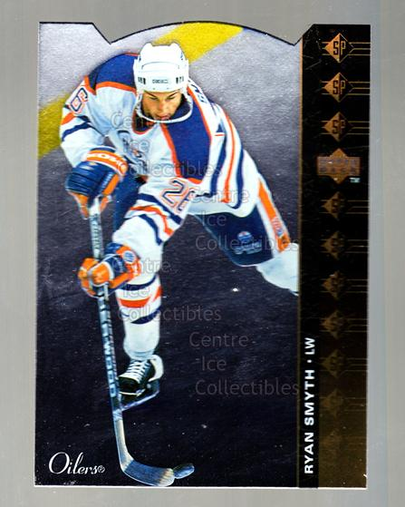 1994-95 Upper Deck SP Inserts Die Cuts #118 Ryan Smyth<br/>6 In Stock - $2.00 each - <a href=https://centericecollectibles.foxycart.com/cart?name=1994-95%20Upper%20Deck%20SP%20Inserts%20Die%20Cuts%20%23118%20Ryan%20Smyth...&quantity_max=6&price=$2.00&code=35578 class=foxycart> Buy it now! </a>