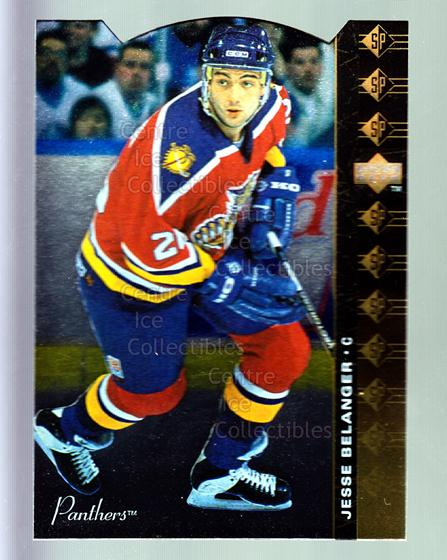 1994-95 Upper Deck SP Inserts Die Cuts #119 Jesse Belanger<br/>11 In Stock - $2.00 each - <a href=https://centericecollectibles.foxycart.com/cart?name=1994-95%20Upper%20Deck%20SP%20Inserts%20Die%20Cuts%20%23119%20Jesse%20Belanger...&quantity_max=11&price=$2.00&code=35579 class=foxycart> Buy it now! </a>