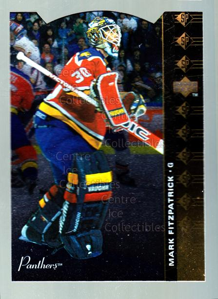 1994-95 Upper Deck SP Inserts Die Cuts #120 Mark Fitzpatrick<br/>11 In Stock - $2.00 each - <a href=https://centericecollectibles.foxycart.com/cart?name=1994-95%20Upper%20Deck%20SP%20Inserts%20Die%20Cuts%20%23120%20Mark%20Fitzpatric...&quantity_max=11&price=$2.00&code=35581 class=foxycart> Buy it now! </a>