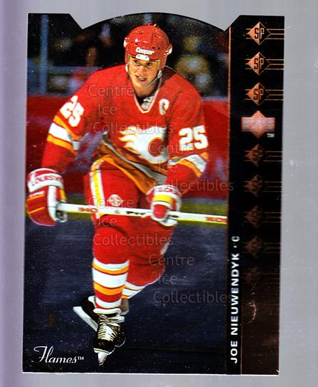 1994-95 Upper Deck SP Inserts Die Cuts #13 Joe Nieuwendyk<br/>5 In Stock - $2.00 each - <a href=https://centericecollectibles.foxycart.com/cart?name=1994-95%20Upper%20Deck%20SP%20Inserts%20Die%20Cuts%20%2313%20Joe%20Nieuwendyk...&quantity_max=5&price=$2.00&code=35591 class=foxycart> Buy it now! </a>