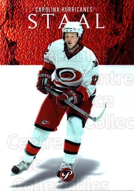 2003-04 Topps Pristine #149 Eric Staal<br/>1 In Stock - $5.00 each - <a href=https://centericecollectibles.foxycart.com/cart?name=2003-04%20Topps%20Pristine%20%23149%20Eric%20Staal...&quantity_max=1&price=$5.00&code=355957 class=foxycart> Buy it now! </a>