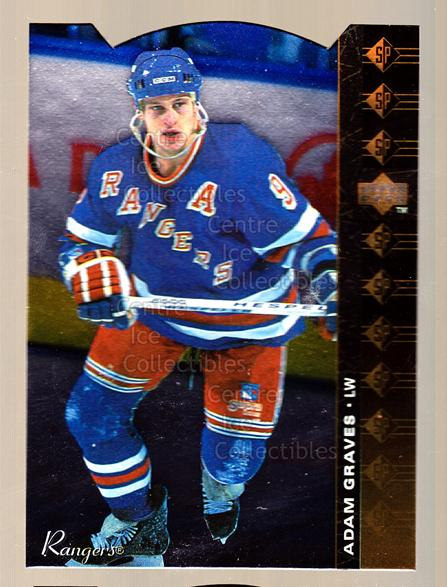 1994-95 Upper Deck SP Inserts Die Cuts #140 Adam Graves<br/>9 In Stock - $2.00 each - <a href=https://centericecollectibles.foxycart.com/cart?name=1994-95%20Upper%20Deck%20SP%20Inserts%20Die%20Cuts%20%23140%20Adam%20Graves...&quantity_max=9&price=$2.00&code=35603 class=foxycart> Buy it now! </a>
