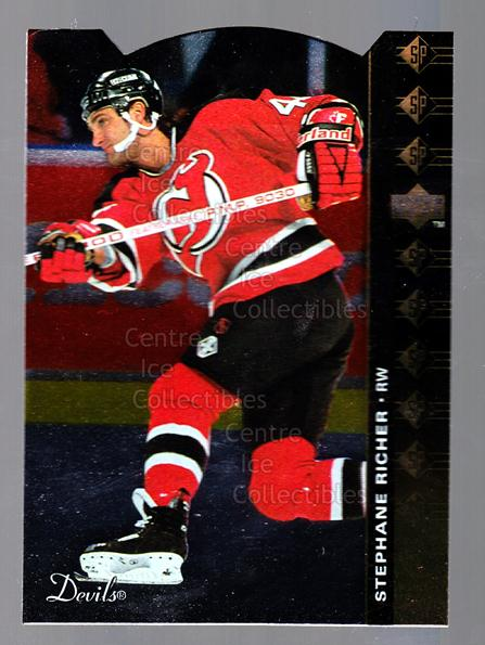 1994-95 Upper Deck SP Inserts Die Cuts #44 Stephane Richer<br/>11 In Stock - $2.00 each - <a href=https://centericecollectibles.foxycart.com/cart?name=1994-95%20Upper%20Deck%20SP%20Inserts%20Die%20Cuts%20%2344%20Stephane%20Richer...&quantity_max=11&price=$2.00&code=35668 class=foxycart> Buy it now! </a>